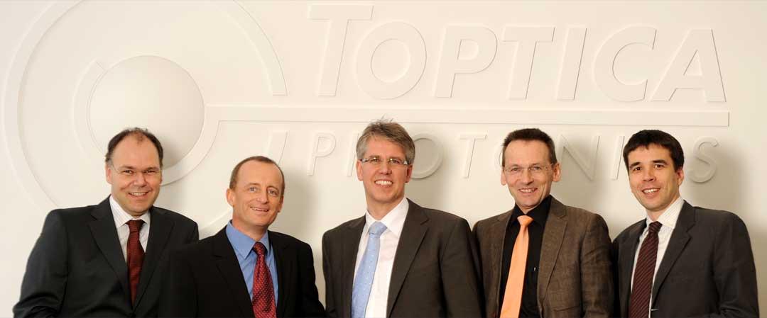 Walter Kraus Team Toptica Photonics Vice President